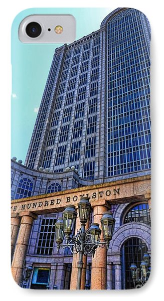 Five Hundred Boylston - Boston Architecture IPhone Case