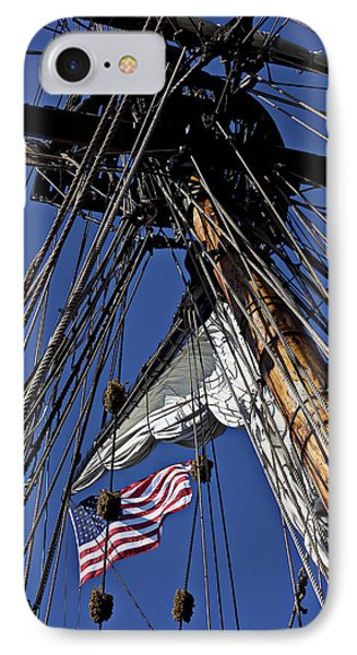 Flag In The Rigging IPhone Case