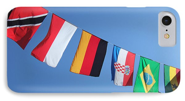 Flags Of Different Countries Phone Case by Matthias Hauser