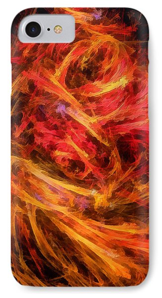 Flamboyance Phone Case by RochVanh