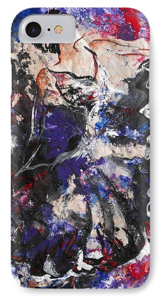 Flamenco Dancer 7 IPhone Case by Koro Arandia