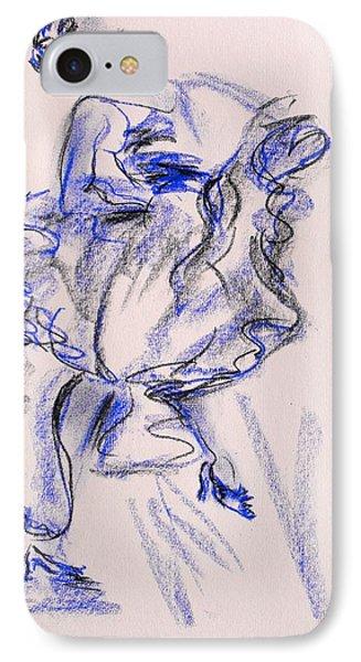 Flamenco Dancer 9 IPhone Case by Koro Arandia