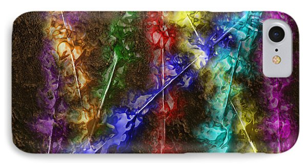 Flaming Arrows Phone Case by Michael Hurwitz