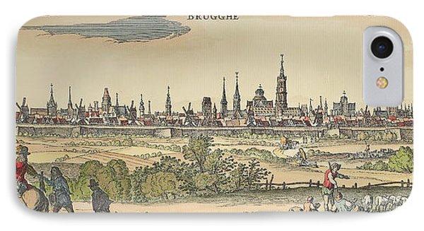 Flanders: Bruges, 1720 Phone Case by Granger