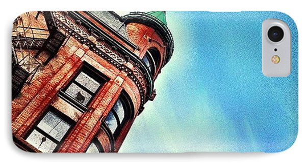 Flat Iron Building IPhone Case by Christopher Campbell