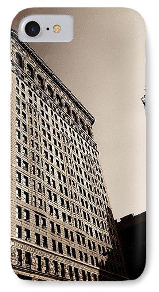 Flatiron Building - New York City IPhone Case by Vivienne Gucwa