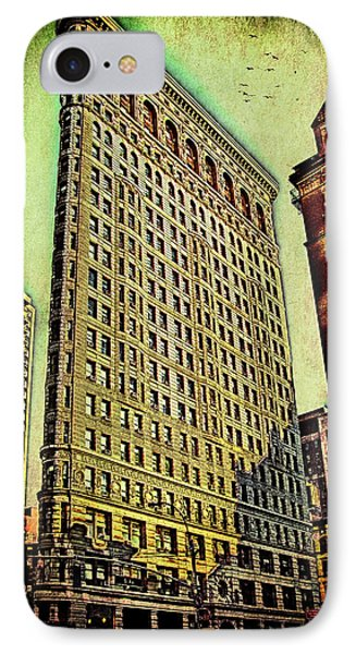 Flatiron Building Again Phone Case by Chris Lord
