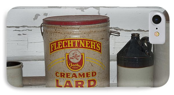 Flechtners Creamed Lard IPhone Case