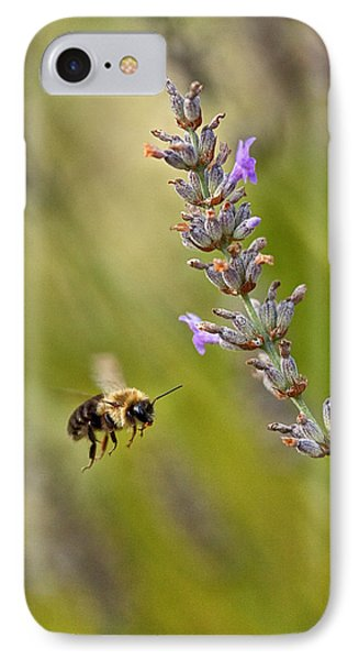 Flight Of The Bumble Phone Case by Karol Livote
