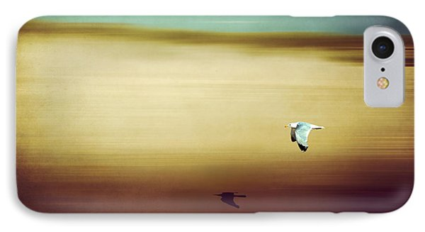 Flight Over The Beach Phone Case by Hannes Cmarits