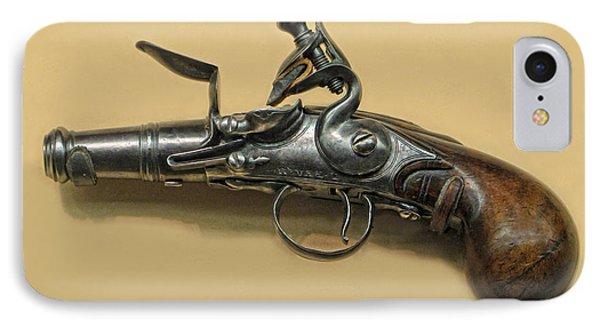 Flintlock Pistol Phone Case by Dave Mills