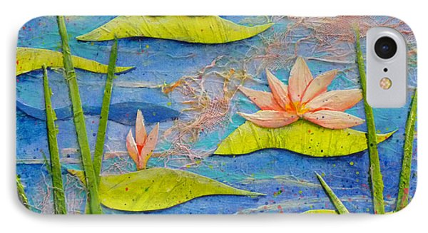 Floating Lilies IPhone Case by Carla Parris