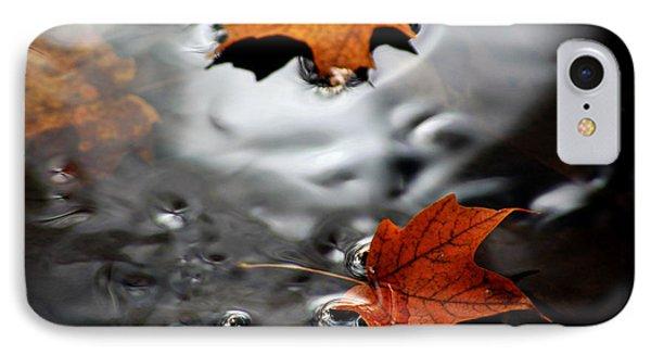 Floating Maple Leaves Phone Case by LeeAnn McLaneGoetz McLaneGoetzStudioLLCcom