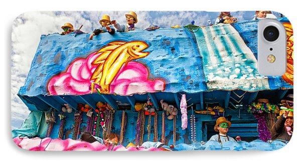 Floating Thru Mardi Gras Phone Case by Steve Harrington