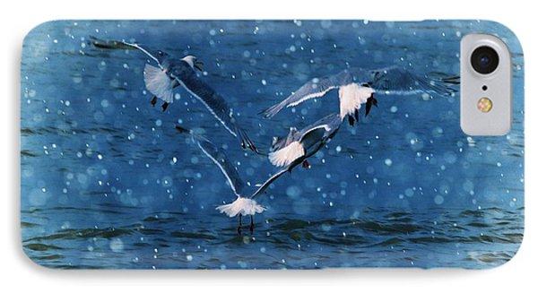 Flock  Phone Case by Debra  Miller