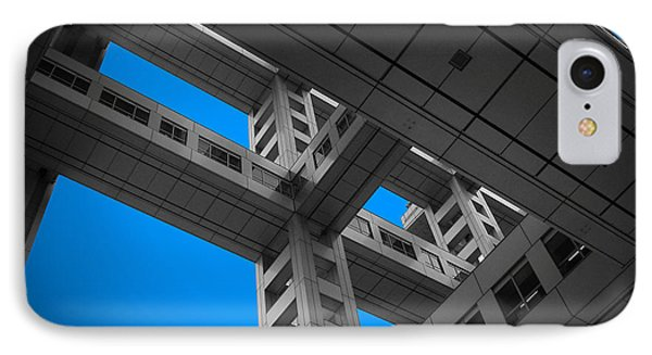 Floors Of Fuji Building IPhone Case by Naxart Studio