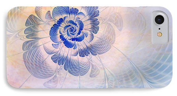 Floral Impression IPhone Case by John Edwards