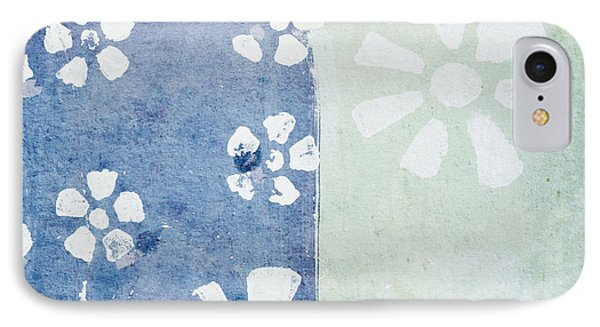 Floral Pattern On Old Grunge Paper Phone Case by Setsiri Silapasuwanchai