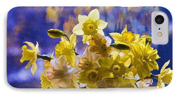 Floral Reflections Phone Case by Jo-Anne Gazo-McKim