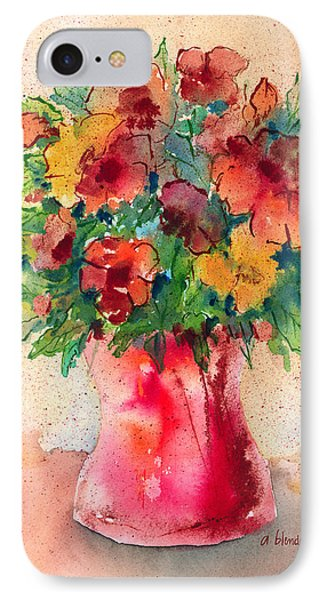 Floral Still Life Phone Case by Arline Wagner