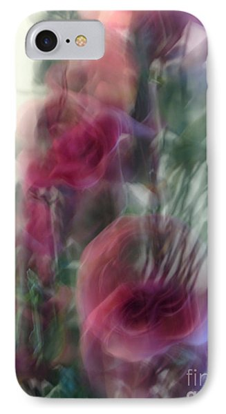 Florals In Motion 2 IPhone Case by Cedric Hampton