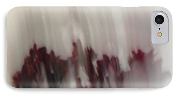Florals In Motion 5 IPhone Case by Cedric Hampton