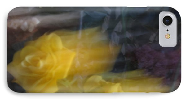 Florals In Motion 7 IPhone Case by Cedric Hampton