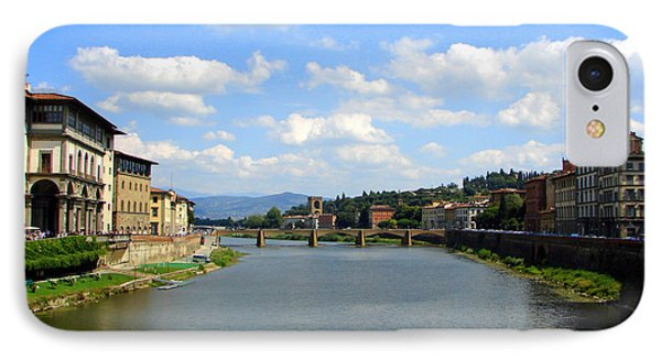 IPhone Case featuring the photograph Florence Arno River by Patrick Witz