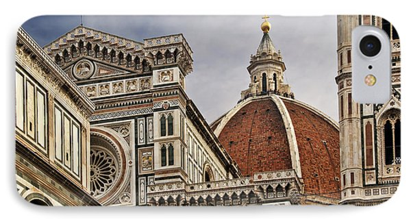 IPhone Case featuring the photograph Florence Duomo by Steven Sparks