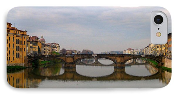 Florence Italy Bridge IPhone Case