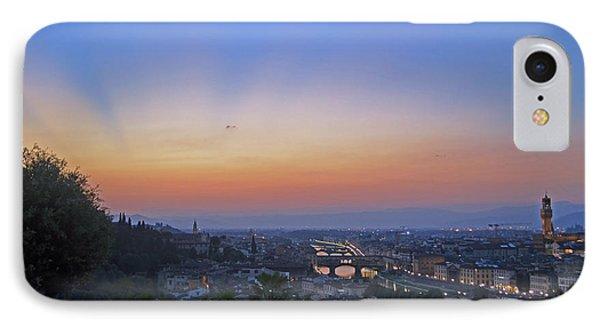 Florence Sunset Phone Case by La Dolce Vita