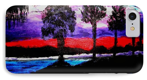 Florida At Sunset IPhone Case by Vickie G Buccini