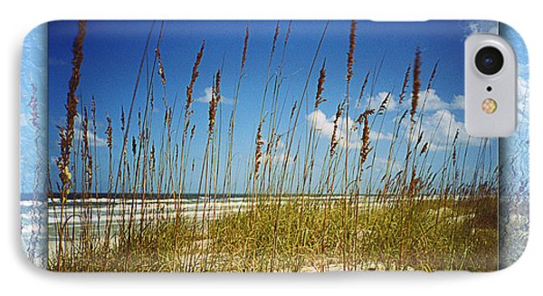 Perfect Day At A Florida Beach IPhone Case by Barbara Middleton