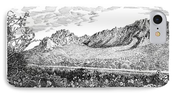 Florida Mountains And Poppies Phone Case by Jack Pumphrey