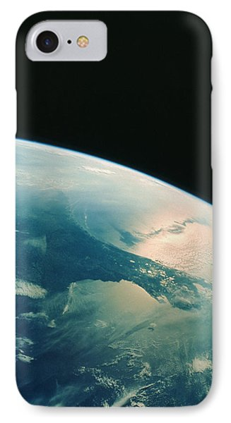 Florida Peninsula From Shuttle Phone Case by Nasa