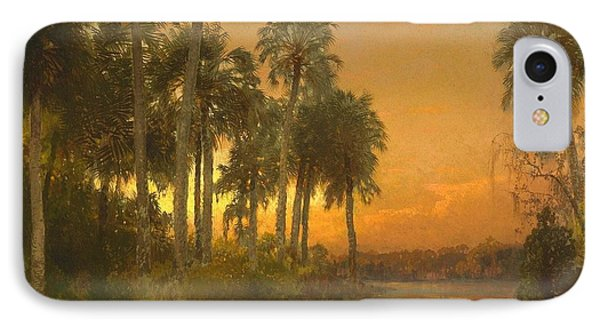 Florida Sunset IPhone Case by Pg Reproductions