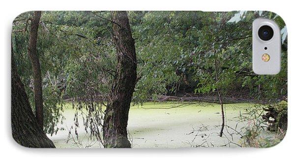 Flossmoor Forest 1 IPhone Case by Cedric Hampton