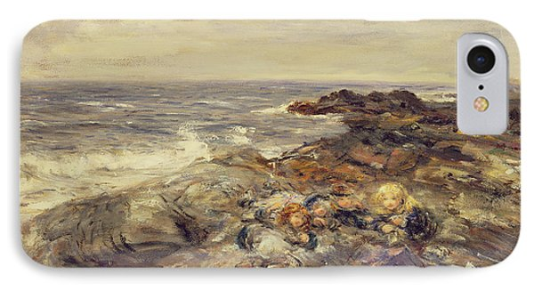 Flotsam And Jetsam Phone Case by William McTaggart