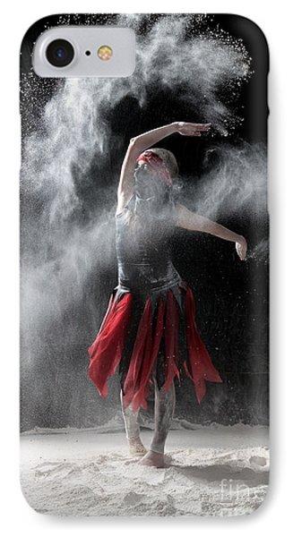 Flour Dancer Series Phone Case by Cindy Singleton