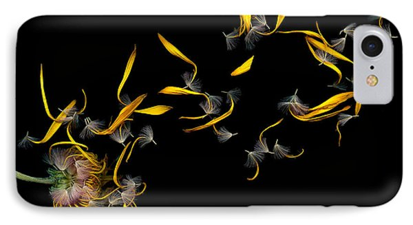 Flower - Daisy - Gone With The Wind IPhone Case by Mike Savad