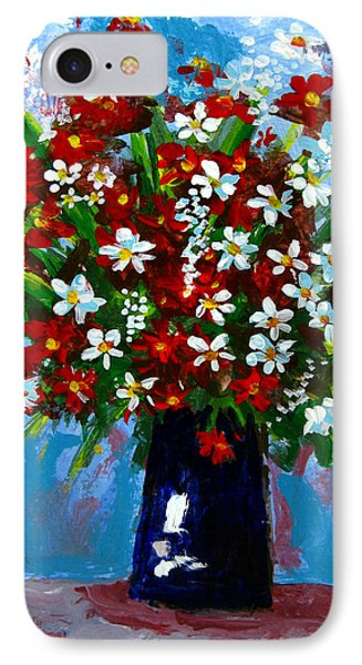 Flower Arrangement Bouquet Phone Case by Patricia Awapara