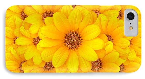Flower Background IPhone Case by Carlos Caetano