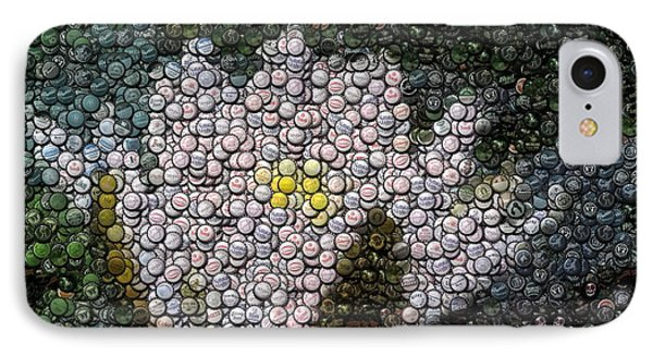 Flower Bottle Cap Mosaic IPhone Case