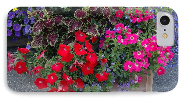 IPhone Case featuring the photograph Flower Box by Vilas Malankar