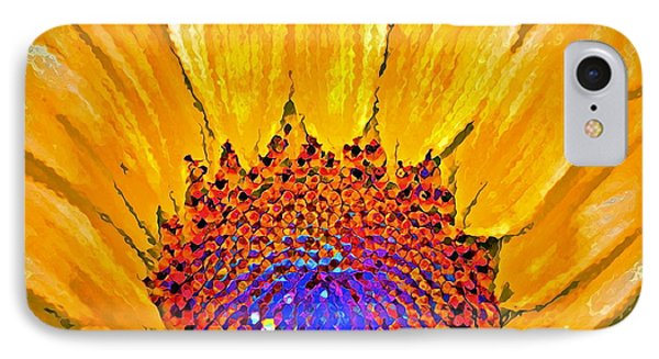 Flower Child - Flower Power IPhone Case by Gwyn Newcombe