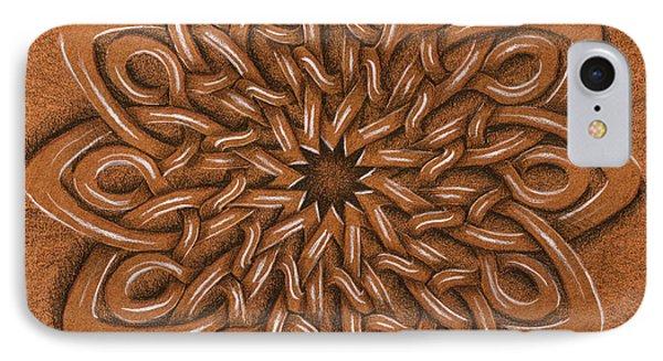 Flower Mandala Phone Case by Hakon Soreide