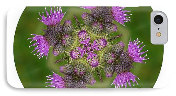 IPhone Case featuring the photograph Flower Of Scotland by Lynn Bolt