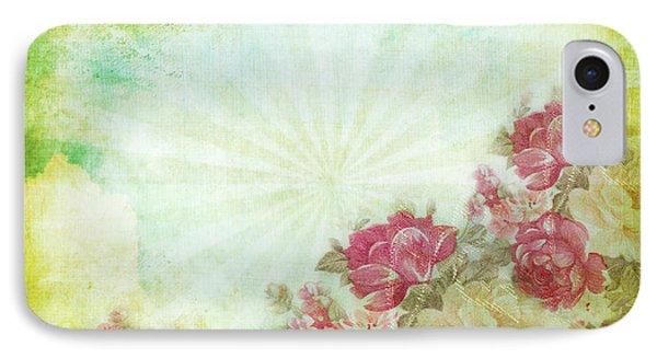 Flower Pattern On Paper Phone Case by Setsiri Silapasuwanchai