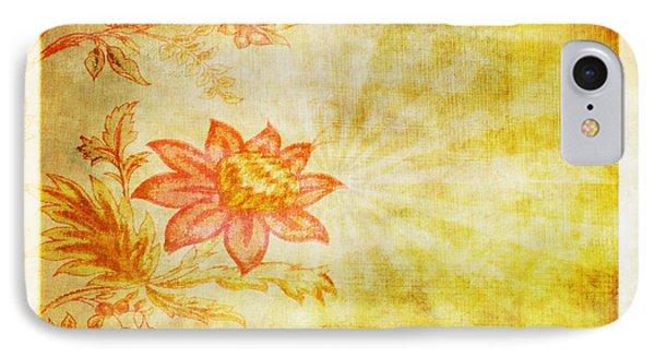 Flower Pattern Phone Case by Setsiri Silapasuwanchai