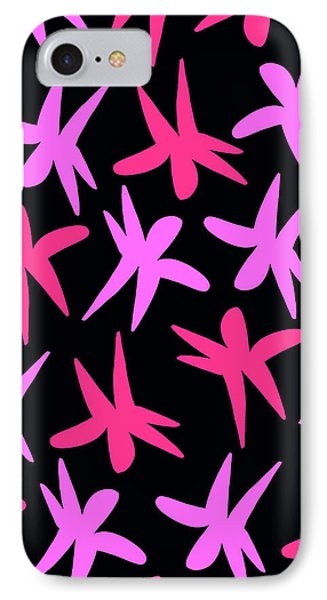 Flower Stars  Phone Case by Louisa Knight
